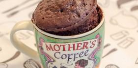עוגת שוקולד בכוס