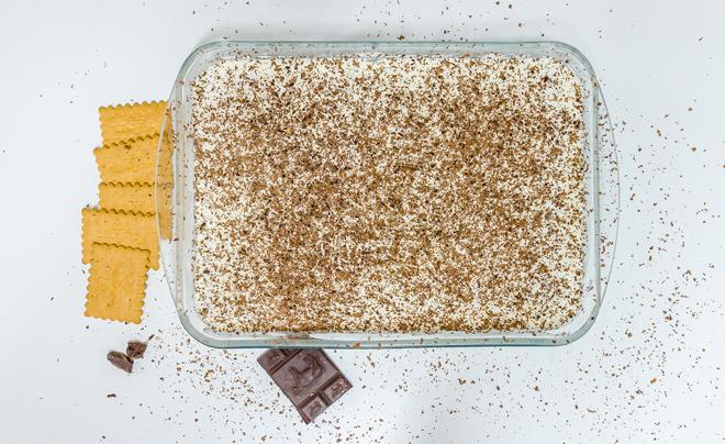 עוגת ביסקוויטים מוכנה