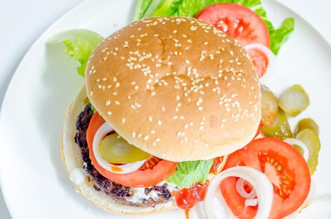 המבורגר ביתי עסיסי