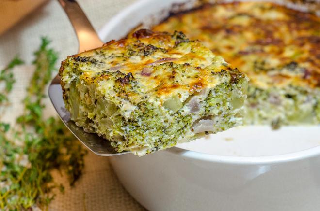 פשטידת ברוקולי קלה ופשוטה להכנה בשילוב גבינות