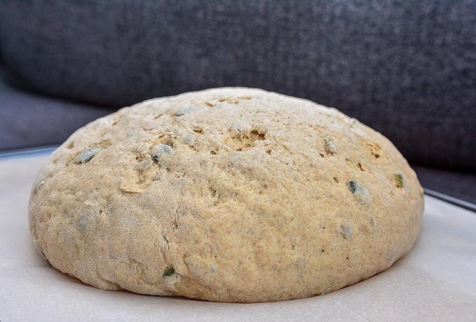 בצק ללחם מקמח מלא