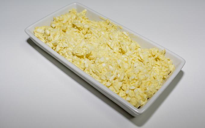 סלט ביצים קשות
