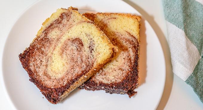 2 פרוסות עוגה