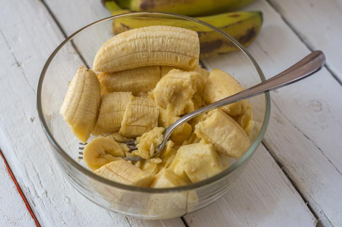 בננות מרוסקות
