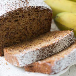 עוגת בננות מטורפת גבוהה ואוורירית במיוחד