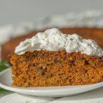 עוגת גזר בחושה קלה להכנה ב 10 דקות