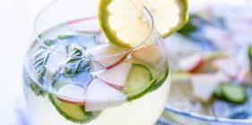 מים עם גינגר ולימון