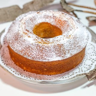 עוגת תפוזים גבוהה קלה להכנה עם או בלי קוקוס