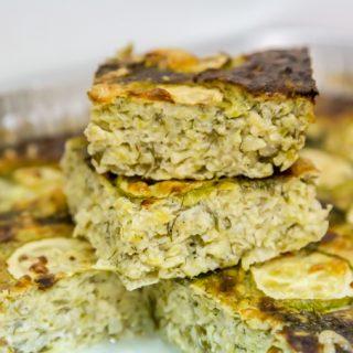 פשטידת קישואים עם גבינות ובצל קלה להכנה