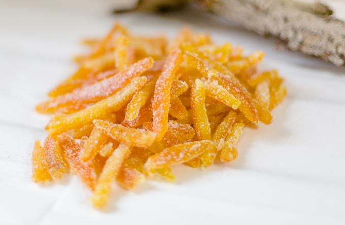 קליפות תפוזים מסוכרים