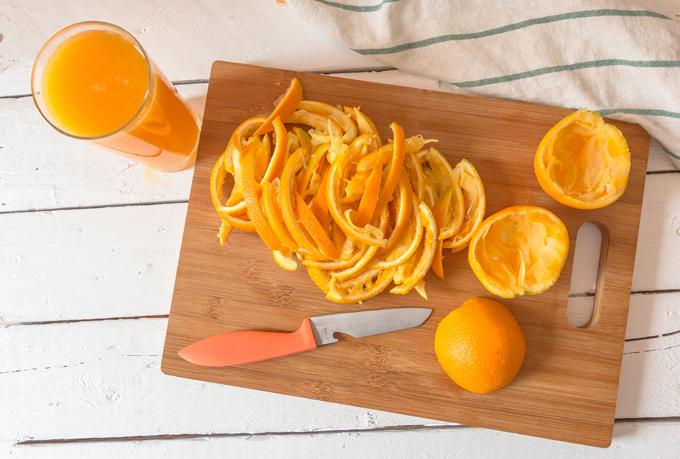 קליפות תפוזים