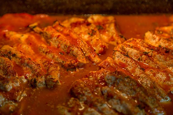חזה הודו בתנור