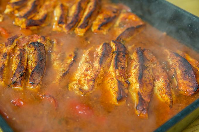חזה הודו מוכן בתנור