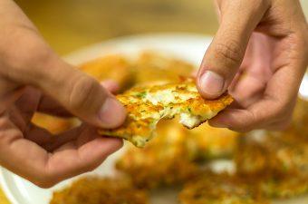 קציצת עוף עם גבינה