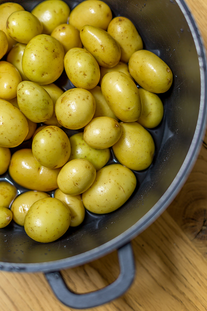 תפוחי אדמה קטנים